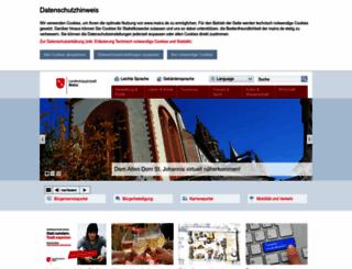 mainz.de screenshot