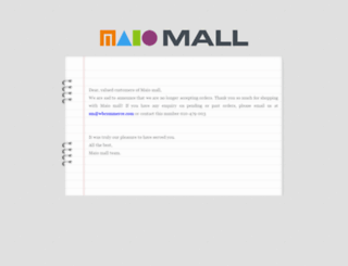 maiomall.com screenshot