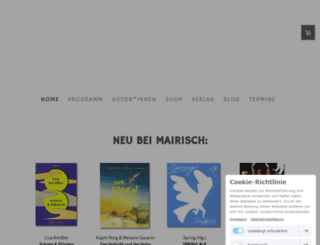 mairisch.de screenshot