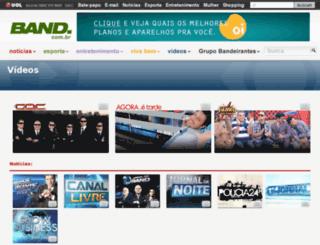 maisband.band.com.br screenshot