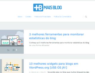 maisblog.com.br screenshot