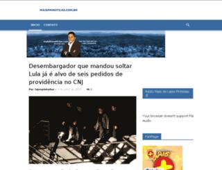 maisfmnoticias.com.br screenshot