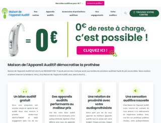 maison-appareil-auditif.com screenshot