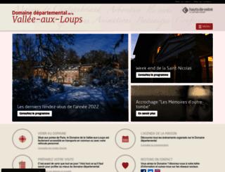 maison-de-chateaubriand.hauts-de-seine.net screenshot