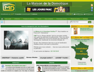maison-domotique.fr screenshot