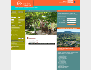 maison-en-provence.com screenshot