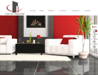 maison-luxe-aquitaine.com screenshot
