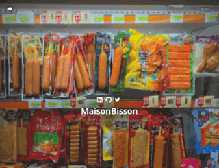 maisonbisson.com screenshot