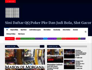 maisondemorgana.com screenshot