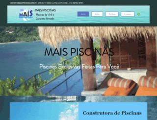 maispiscinas.com.br screenshot
