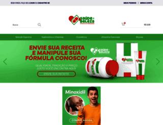 maissaudeebeleza.com.br screenshot