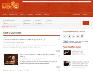 maisteatro.com screenshot