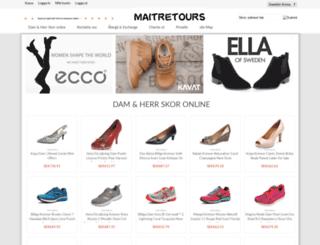 maitretours.com screenshot