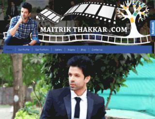 maitrikthakkar.com screenshot