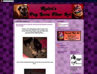maitrispuglovefiberart.blogspot.com screenshot