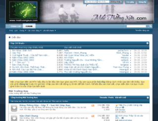 maitruongxua.com screenshot