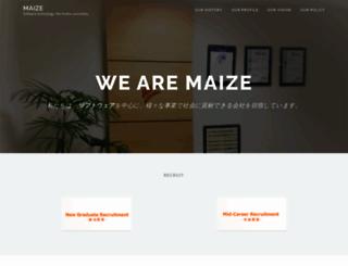 maize.co.jp screenshot