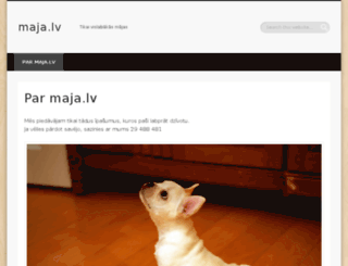 maja.lv screenshot