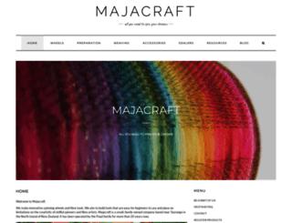 majacraft.co.nz screenshot