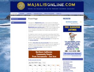 majalisonline.com screenshot