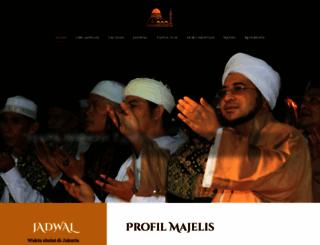majelisrasulullah.org screenshot