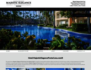 majesticelegancepuntacana.com screenshot
