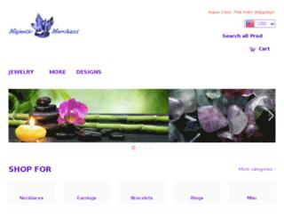 majesticmerchant.com screenshot