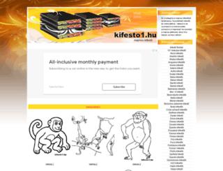 majmos-kifesto.kifesto1.hu screenshot