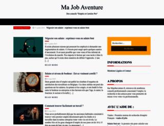 majobaventure.fr screenshot