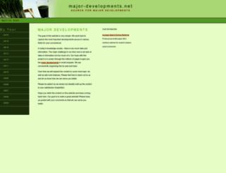 major-developments.net screenshot