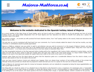 majorca-mallorca.co.uk screenshot