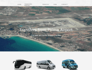 majorca-transfers-airport.co.uk screenshot