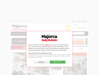 majorcadailybulletin.es screenshot