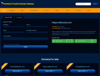 majorcarooms.com screenshot