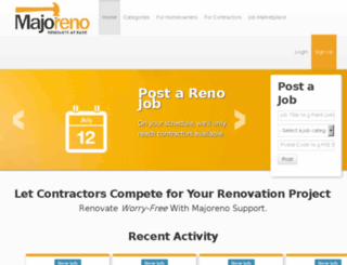 majoreno.com screenshot
