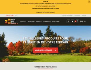 majorminimoteur.com screenshot