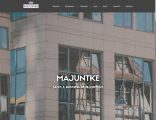 majuntke.com screenshot