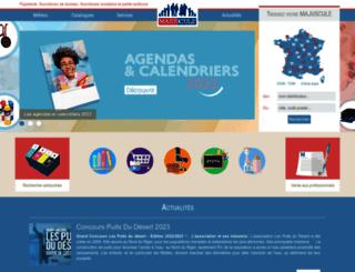 majuscule.com screenshot
