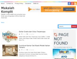 makalahkomplit.blogspot.com screenshot