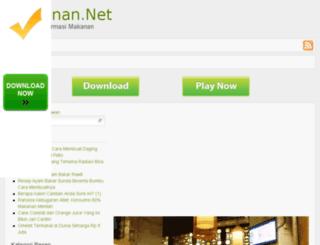 makanan.net screenshot