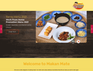 makanmate.com screenshot