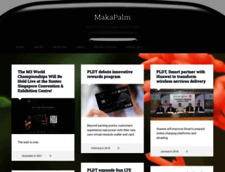 makapalm.ederic.net screenshot