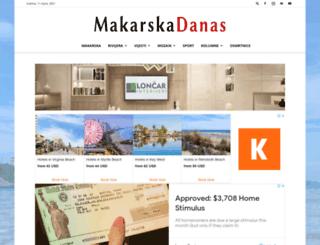 makarska-danas.com screenshot