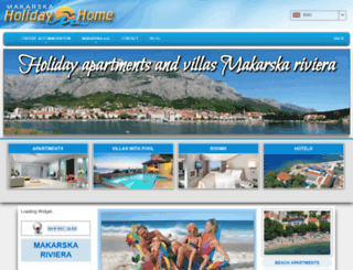 makarska-holidayhome.com screenshot