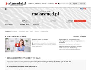 makasmed.pl screenshot