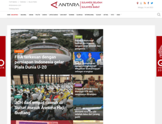 makassar.antaranews.com screenshot