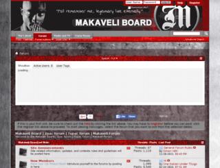 makaveli-board.net screenshot