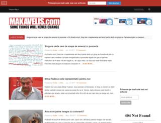 makavelis.com screenshot