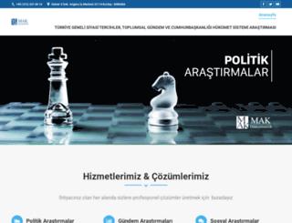 makdanismanlik.org screenshot