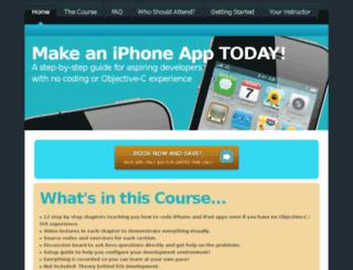 make-an-iphone-app.info screenshot